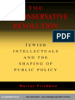 The Neoconservative Revolution Jewish Intellectuals And The Shaping Of Public Policy Murray Friedman