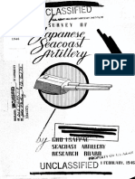 (1946) Survey of Japanese Seacoast Artillery
