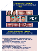 Benefits of Orthodontic Treatment-les Benefices Du Traitement Orthodontique- o Sandid- May Chaaban