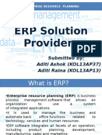 Erp in apparel sector