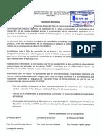 Moción relativa a la actuación del Plan OLA de la Junta de Andalucía en Colegio Pío XII