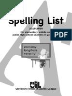 Texas Spelling