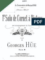 Georges Hue-Solo de Cornet (Piano)