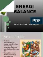 Energi Balance