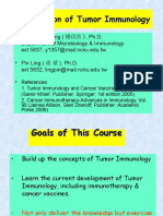 Introduction Tumor Immunology 2008 Spring