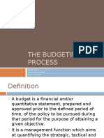 Budgeting  Introduction