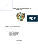 Diagnostico organizacional - dircetur