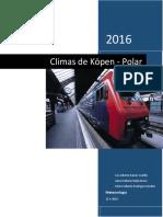 Climas de Köpen - Polar