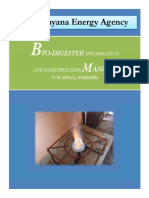 Biodigester Manual