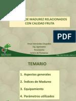 Índices de Madurez en Hortofruticolas