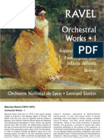 Ravel Orchestral Works, Vol 1