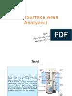 SAA (Surface Area Analyzer)