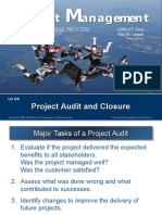 BMGN N470 LO 06 Project Audit