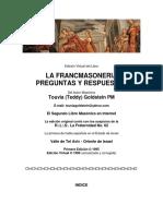 Preguntas y Respuestas sobre Francmasoneria