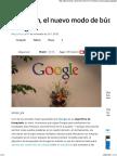 Verbatim, El Nuevo Modo de Búsqueda de Google