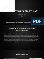 marketing in mary kay