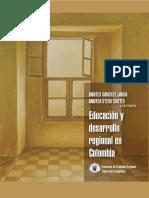 AA.vv., Educación y Desarrollo Regional en Colombia, Vol. 1