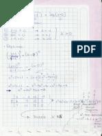 Ecuacion con logaritmo