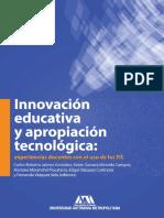 Innovación educativa y apropiación tecnológica