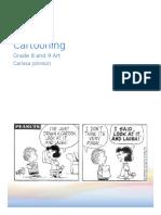 cartooning unit plan grade 8 and 9