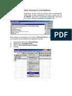 Excel Aplicado a La Estadistica