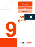 Y9 Science Transition Test Teacher Guide