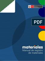 Manual Materiales en La IE - Módulo de Registro