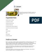 Recetas de guatemala