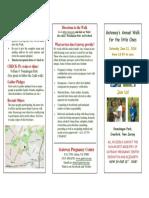 Walk 2016 3 Fold Brochure Church