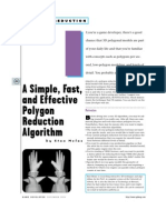 A Simple, Fast,Effective Polygon Reduction Algorithm