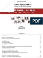 Lei 5891 Esquematizada - Cejuris