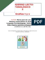 Cuaderno lecto-fonol+¦gico LETRAS_T_S