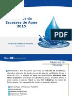 Apresentação Firjan Pesquisa Escassez de Água