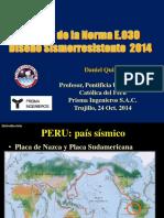 Nueva Norma E030 - 2014