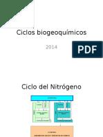 Ciclos biogeoquímicos 2014a