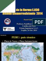 CIP Trujillo Nueva Norma E030 - 2014