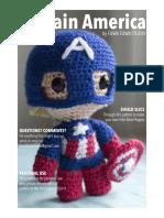 Amigurumi Captain America Pattern