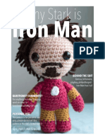 Amigurumi Iron Man Pattern