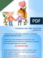 CUIDADO DEL PRE ESCOLAR.pptx