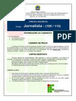 If-pe 2009 if-pe Jornalista-Vitoria Prova