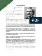 Biografía de Mark Twain
