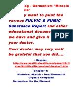 ATP Blog - Germanium by -Dr. Sandra Goodman