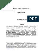 2003 Aspectos Jurídicos de La Contratación.