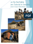 Peace Corps- A Beginner's Tutorial in Sesotho
