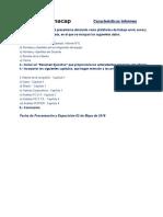 Características Informe (1)