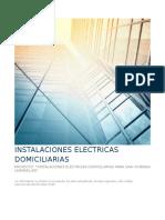 Memoria Descriptiva Instalaciones Electricas Domiciliarias