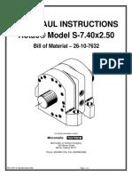 Repair Procedure HS14 - S7.4x2.5 - 26-10-7632