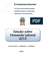Estudio Sobre Demanda Laboral