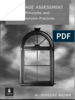 Language Assessment, Principles and Classroom Practices