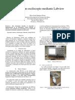 Control de un Osciloscopio mediante Labview